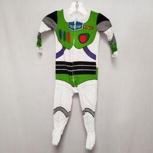 Disney Buzz Lightyear Footed Pajamas or Costume